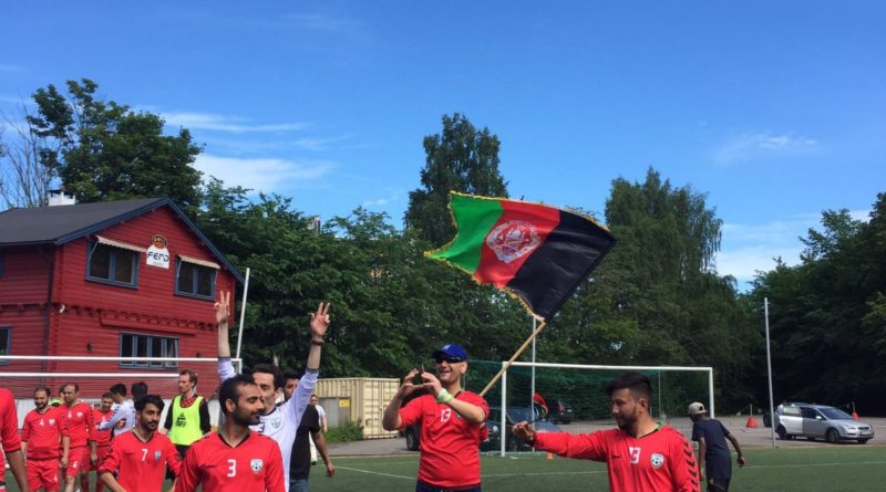 Afghanistan Embassy wins the Embassies' Football Cup