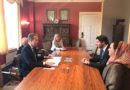 Deputy Minister Karzai meets Foreign Minister Brende of Norway