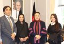 Ambassador Barakzai Meets Afghan Organizers and Participants of ERAS Festival