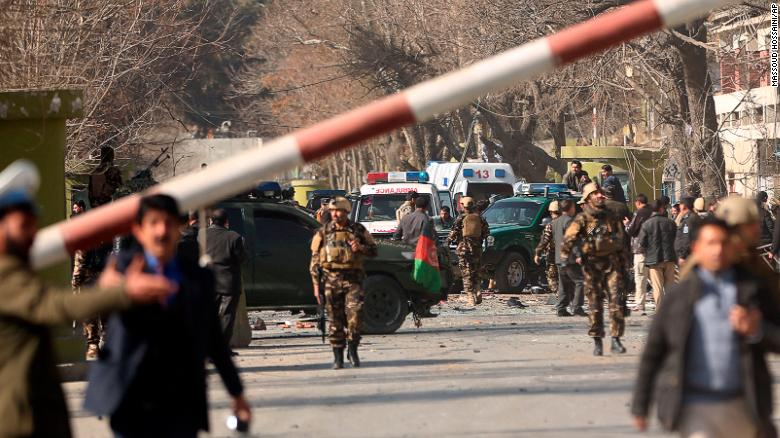 Official reactions to Kabul terror attack (27/01/2018)