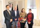 Ambassadør Barakzai møter Norges Røde Kors nye landleder