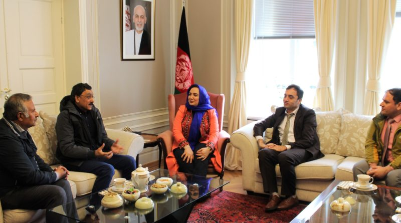 Ambassador Barakzai meets with the members of the Afghan Diaspora in Norway