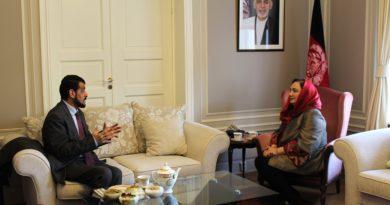 ملاقات سفیر جمهوری اسلامی افغانستان با  وزیر پیشین کار و امور اجتماعی شهداء و معلولین