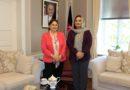 H.E. Mrs. Shukria Barakzai meets with new Georgian Ambassador, H.E. Ms. Maia Kipshidze