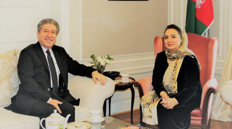 Courtesy call by H.E. Ambassador Fazlı Çorman