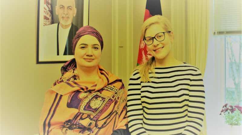 Ambassador Barakzai meets the Norwegian Afghanistan Committee (NAC) Senior Policy Advisor