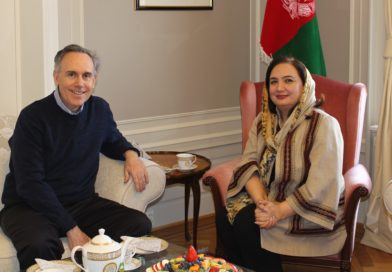 Ambassador Barakzai meets with Mr. Steven Hamilton Chief of Mission IOM