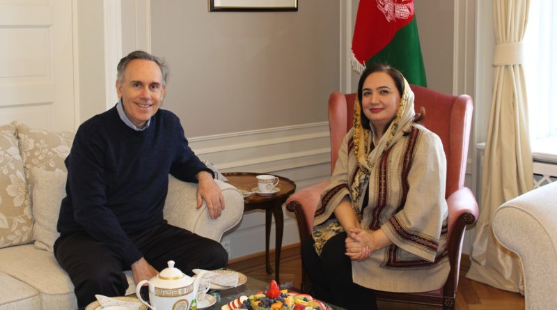 best sneakers e51fa 671f8 Ambassador Barakzai meets with Mr. Steven Hamilton Chief of Mission IOM