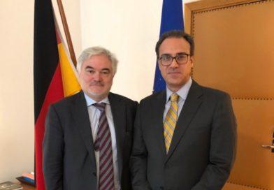 Ambassador Ghafoorzai met with H.E Dr. Alfred Grannas, Ambassador of Germany to Norway