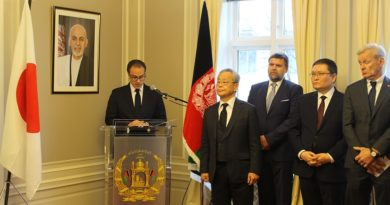 Afghan Embassy in Oslo Holds a Commemorative Event on the  Life, Work and Legacy of the late Dr. Tetsu Nakamura.