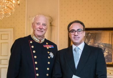 Ambassador Youssof Ghafoorzai presented his credentials to His Majesty King Harald V, King of Norway
