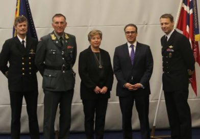 Ambassador Ghafoorzai Visited Haakonsvern Naval Base in Bergen and Addressed Norwegian Soldiers that Served in Afghanistan.