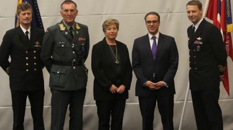 Ambassador Ghafoorzai Visited Haakonsvern Naval Base in Bergen and Addressed Norwegian Soldiers that Served in Afghanistan.