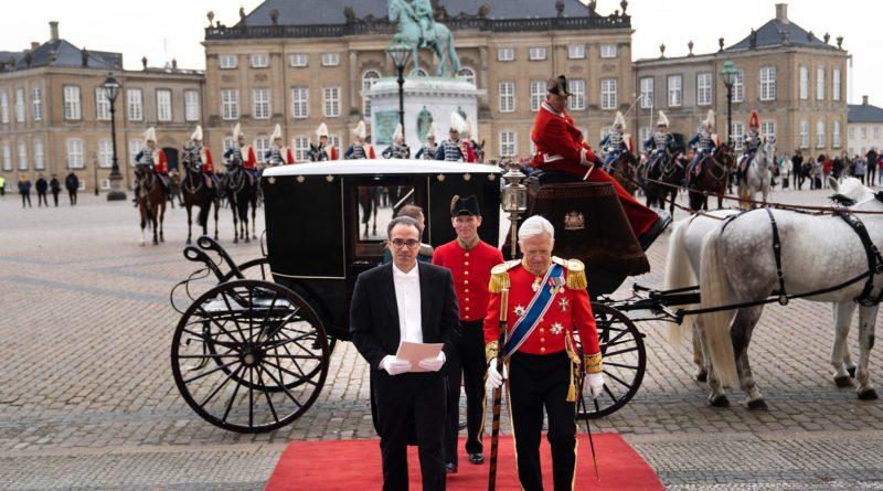 Ambassador Ghafoorzai Visits Copenhagen to Present Credentials to Her Majesty Queen Margreth II of Denmark