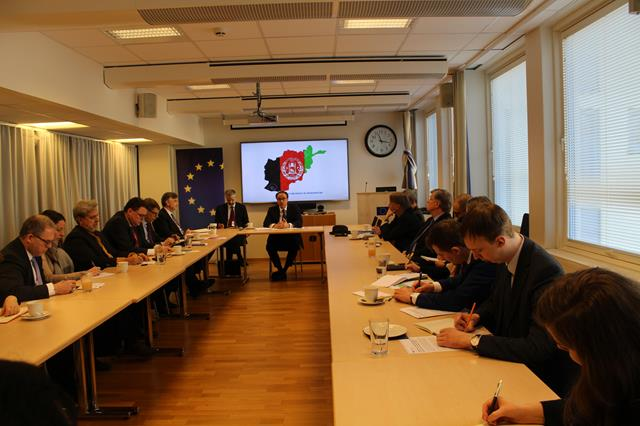 Ambassador Ghafoorzai Briefed the Diplomatic Community in Oslo On Efforts to Achieve Peace in Afghanistan.