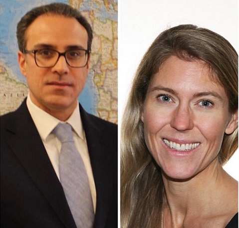 Ambassador Ghafoorzai held a Virtual Meeting with Lisa Golden, Director of the South Asia and Afghanistan Division at the Norwegian Foreign Ministry