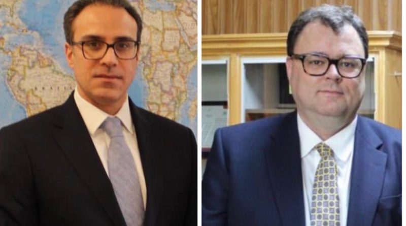 Ambassador Ghafoorzai held a Virtual Meeting with Per Albert Ilsaas, Norway's Special Representative for Afghanistan.