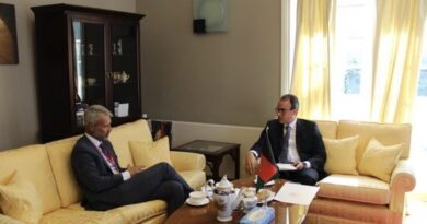 Ambassador Ghafoorzai meets with the newly appointed Ambassador of Norway to Afghanistan