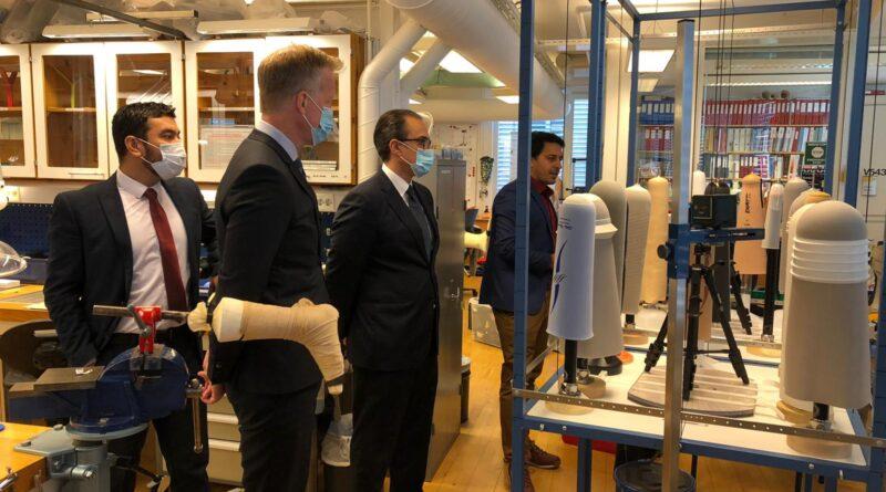 Ambassador Ghafoorzai Visits Oslo Metropolitan University