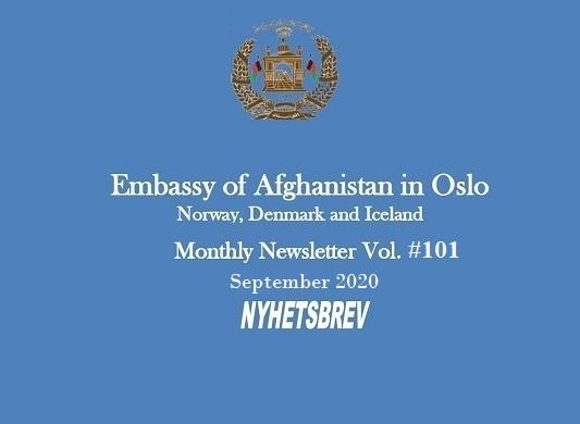 Monthly Newsletter September 2020
