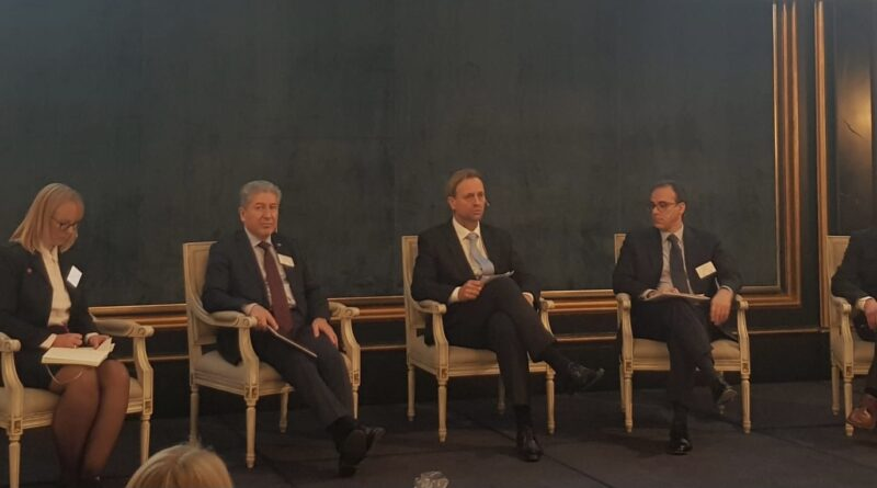 Ambassador Ghafoorzai took part in a Panel discussion in the Annual Embassy Seminar on Assisted Voluntary Return & Reintegration: Solutions for dignified return for vulnerable communities.