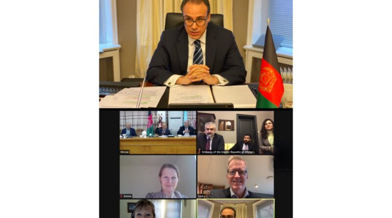 Embassy of Afghanistan hosts Joint Meeting with Oslo Metropolitan University and Kabul University for Start of Academic Partnership & Collaboration