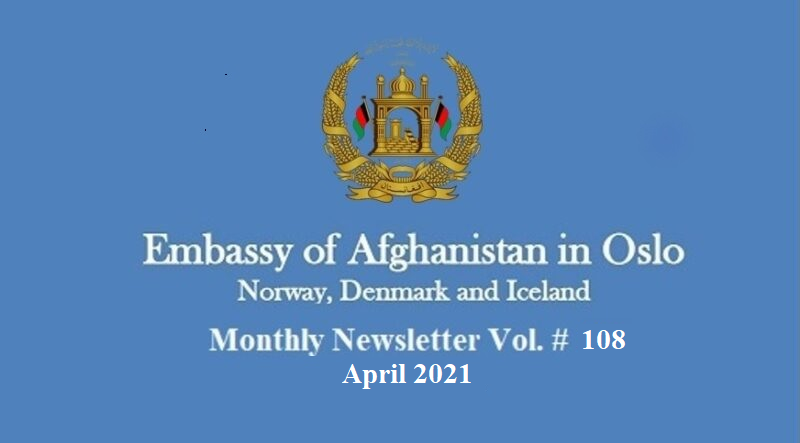 Monthly Newsletter – April 2021