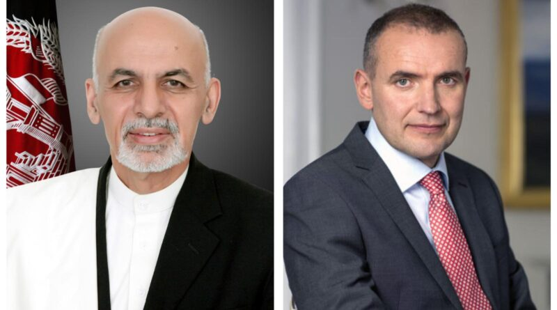President Ghani Congratulates President Guðni Th. Jóhannesson on  Iceland's Independence Day