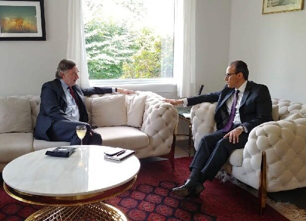 Ambassador Ghafoorzai met with European Union Ambassador to Norway, H.E. Thierry Bechet.