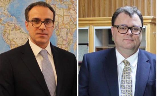Amb. Ghafoorzai Met with Norwegian Special Representative for Afghanistan, Per Albert Ilsaas